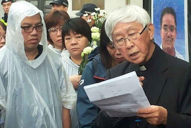 O Cardeal Joseph Zen Ze-kiun lidera apelo ao Papa Francisco pelo fim da perseguição religiosa na China