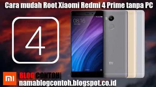Cara mudah Root Xiaomi Redmi 4 Prime tanpa PC