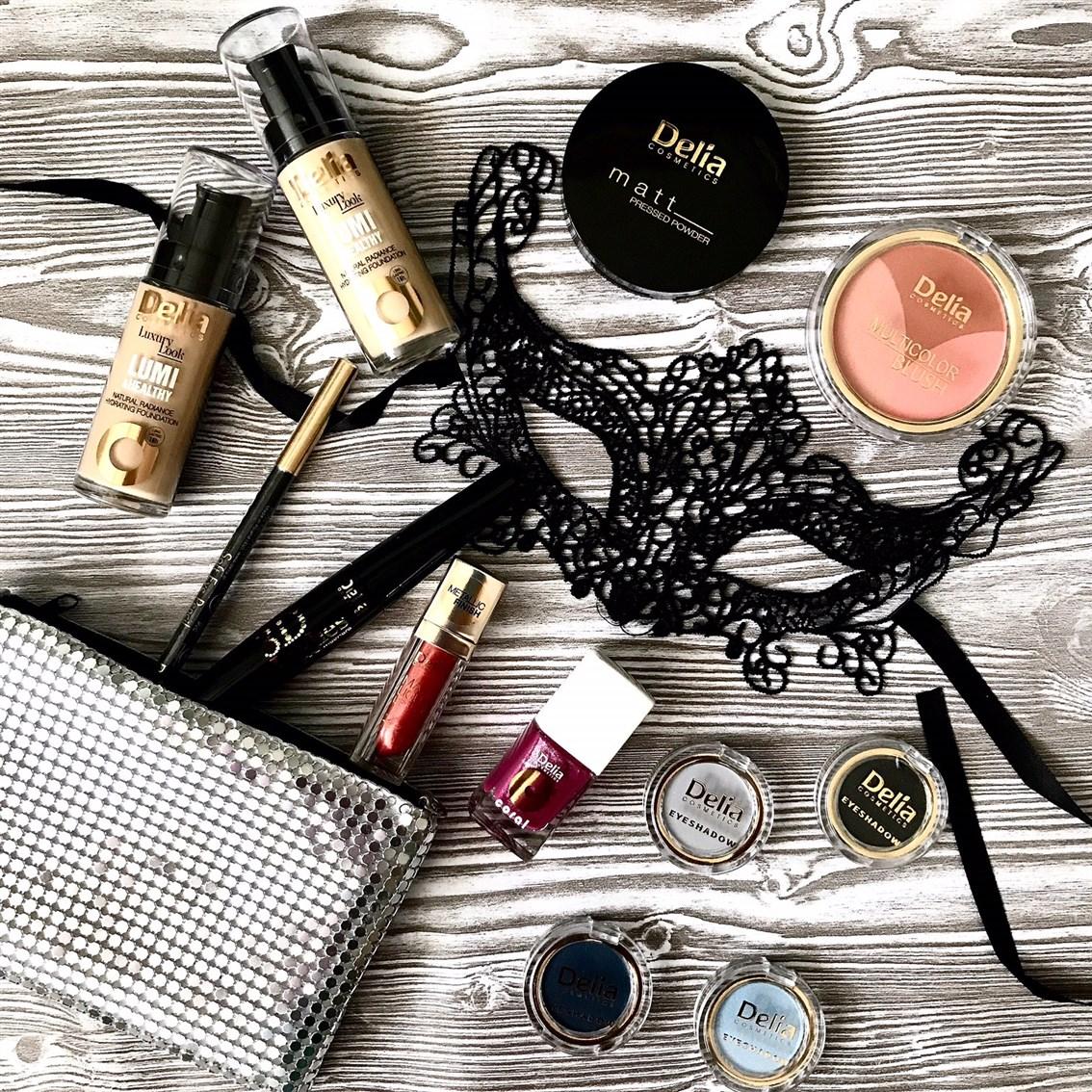 delia kosmetyki do makijażu