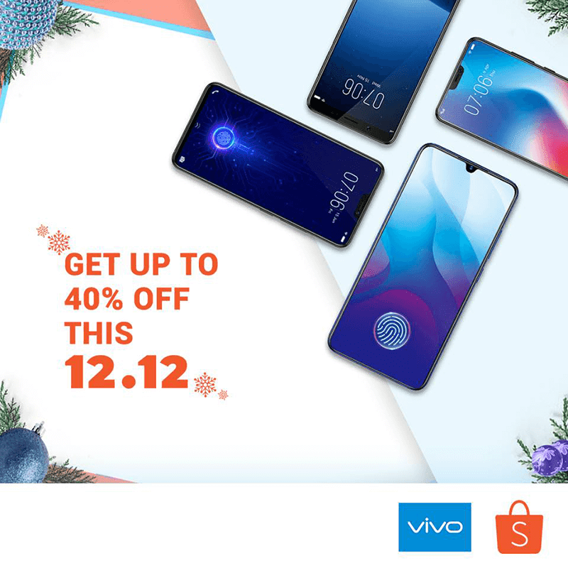 Sale Alert: Vivo to offer up to 40 percent off on 12.12 at Shopee and Lazada