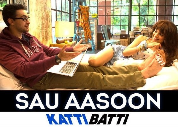 SAU AASOON Hindi song movie KATTI BATTI Imran Khan, Kangana Ranaut