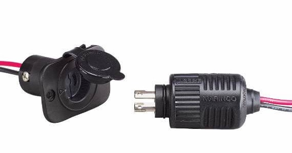 Vanholio  Install Marine Plugs On High Amp 12v Devices