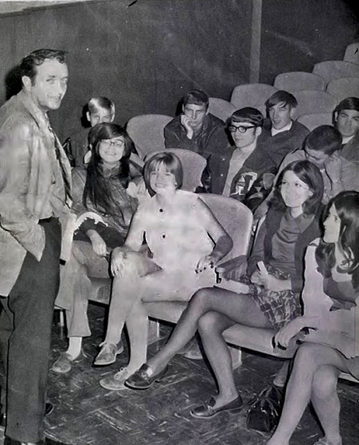 Mini Skirts in School With Male Teacher in the 1970s