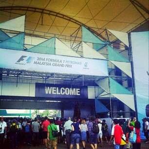 Welcome To Formula 1 Petronas Malaysia Grand Prix 2014