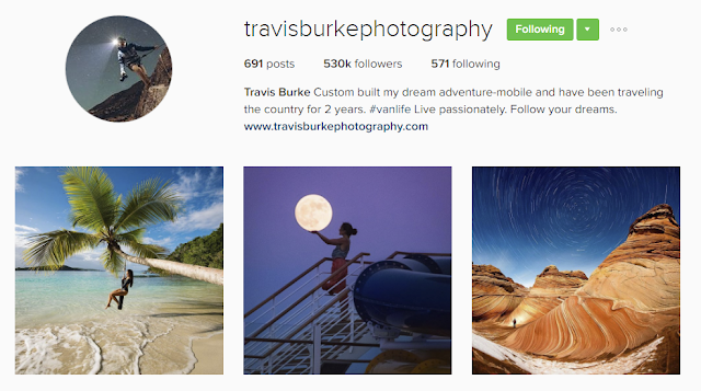 Follow @travisburkephotography on Instagram