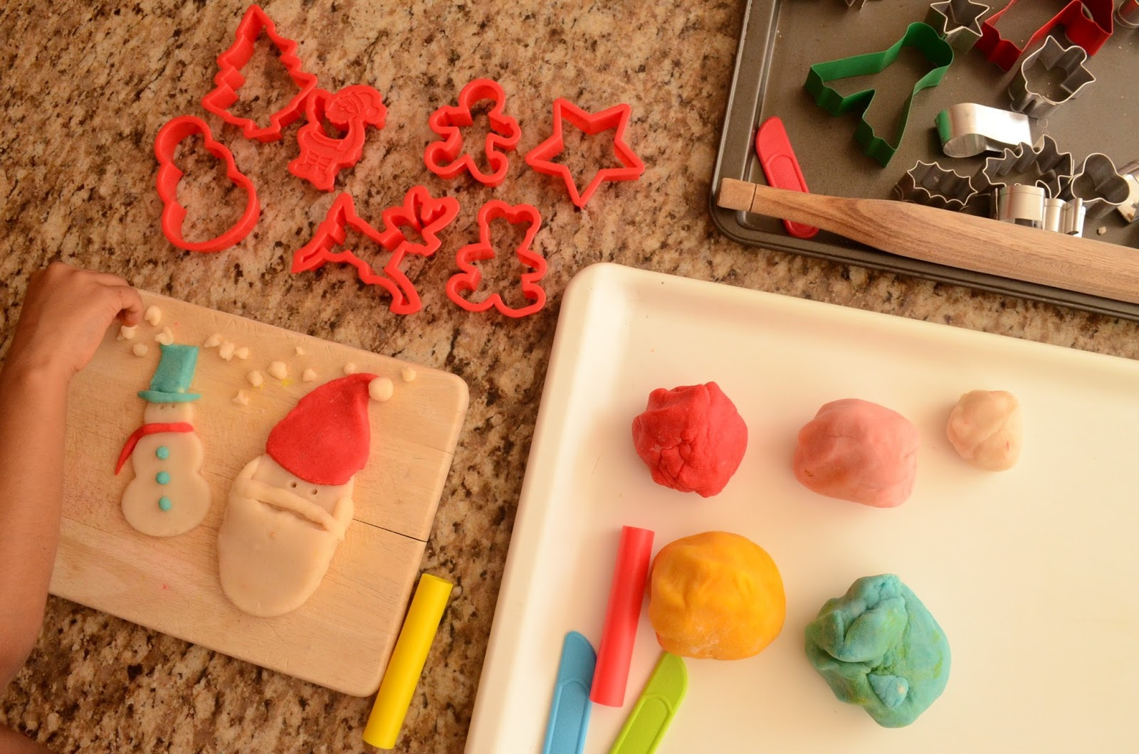 Practical Mom: We MADE play dough! With cream of tartar