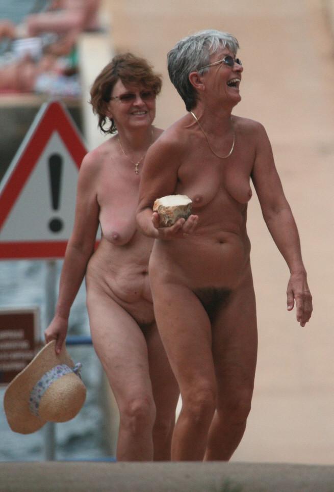 Older nudists