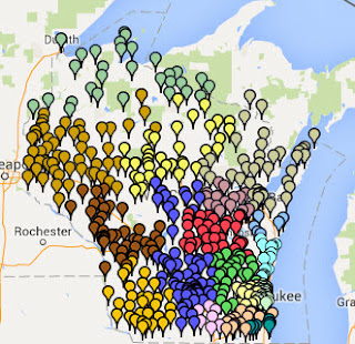 Wisconsin Libraries - Courtesy DPI