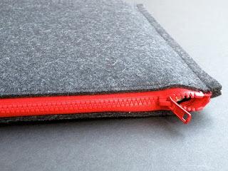 como hacer fundas para notebook