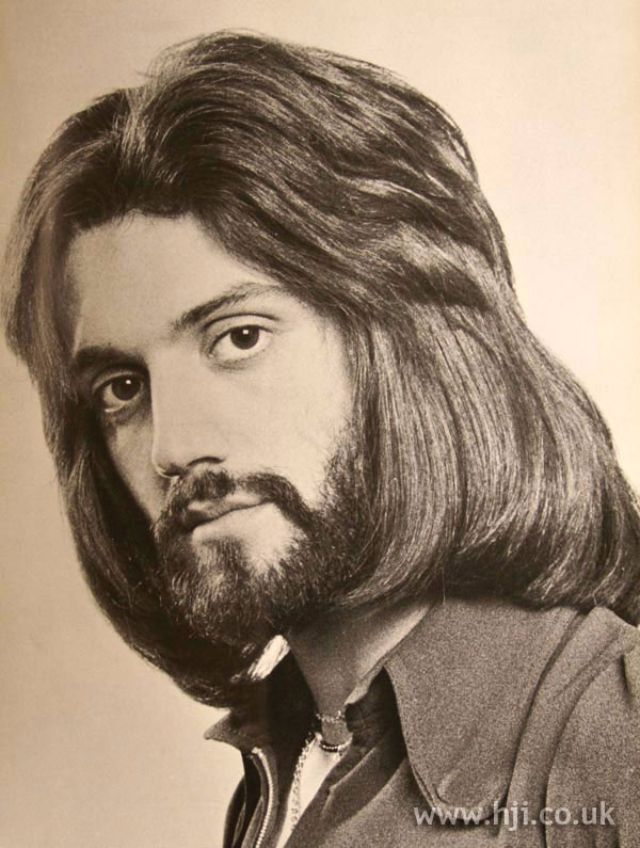 1970s: The Most Romantic Period for Men\'s Hairstyles ~ vintage ...