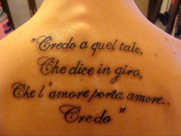 Frasi Piu Belle Di Vasco Rossi Da Tatuare
