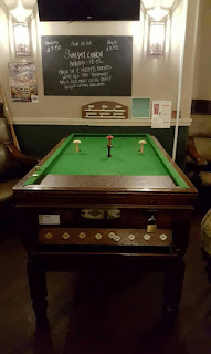 Bar Billiards at The Blossoms pub in Stockport