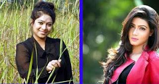 নাইকা শাবনূরের শূণ্যতা বুঝতে দেননি মাহি Mahia Mahi VS Shabnur