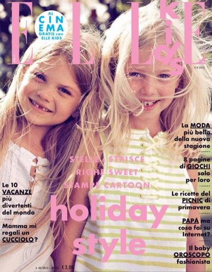 Kids Modeling And Acting Blog Aspen S Cover For Elle Kids