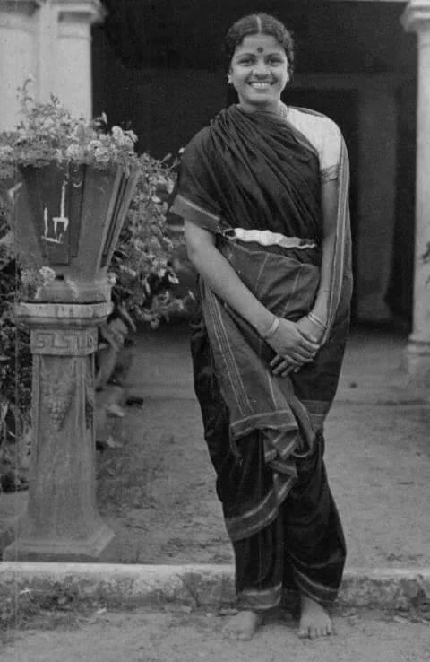 Rare Picture of M S Subba Laksmhi Garu