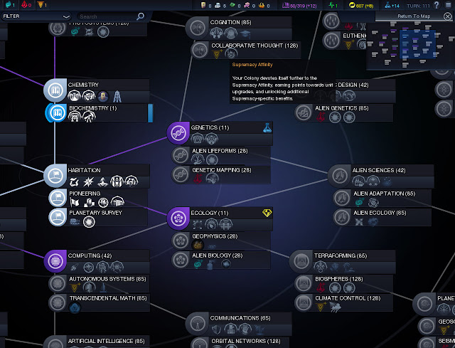 Civilization: Beyond Earth  | Research Tree Screenshot