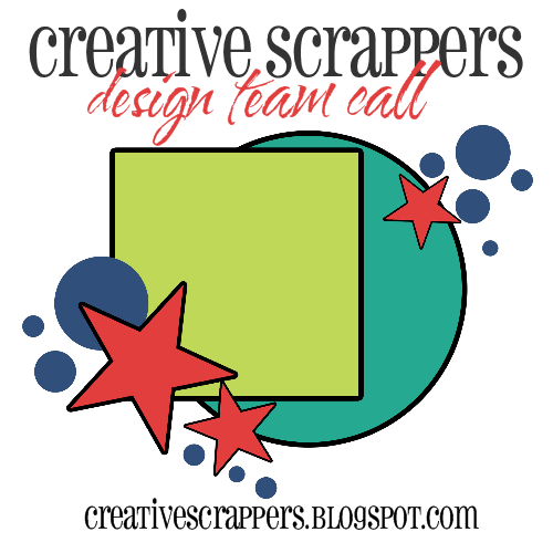 http://creativescrappers.blogspot.com/2014/08/design-team-call-creative-scrappers.html