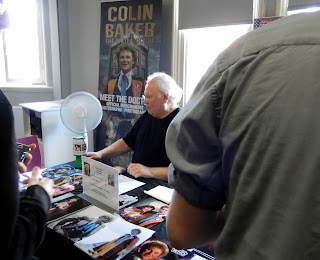 Dr Who Colin Baker at Wakefield Comic Con