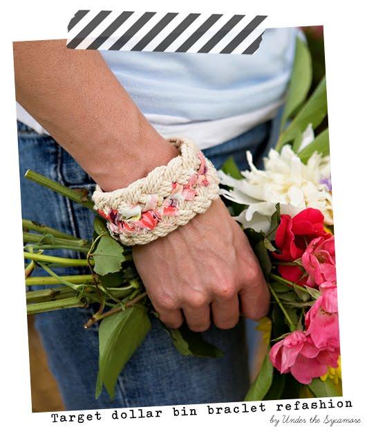 pulseras, brazalete, bisutería, cuerda, tela, manualidades