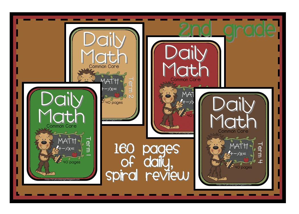 Lory's 2nd Grade Skills: Daily Math using 2nd Grade Common Core