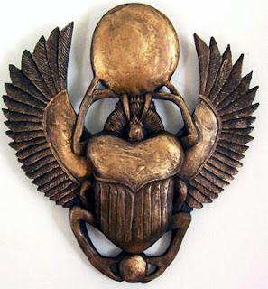 Amuletos y Talismanes: Escarabajos