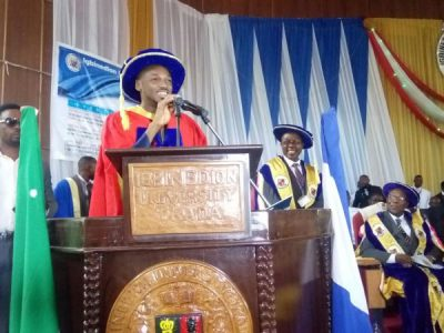 2Baba conferred hoonorary degree