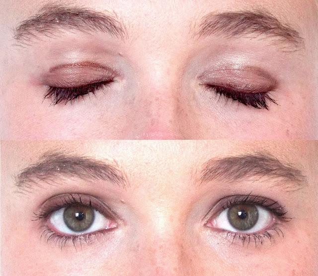 tuto make up yeux vert
