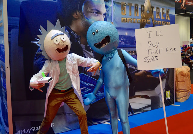 Rick and Morty Comic Con