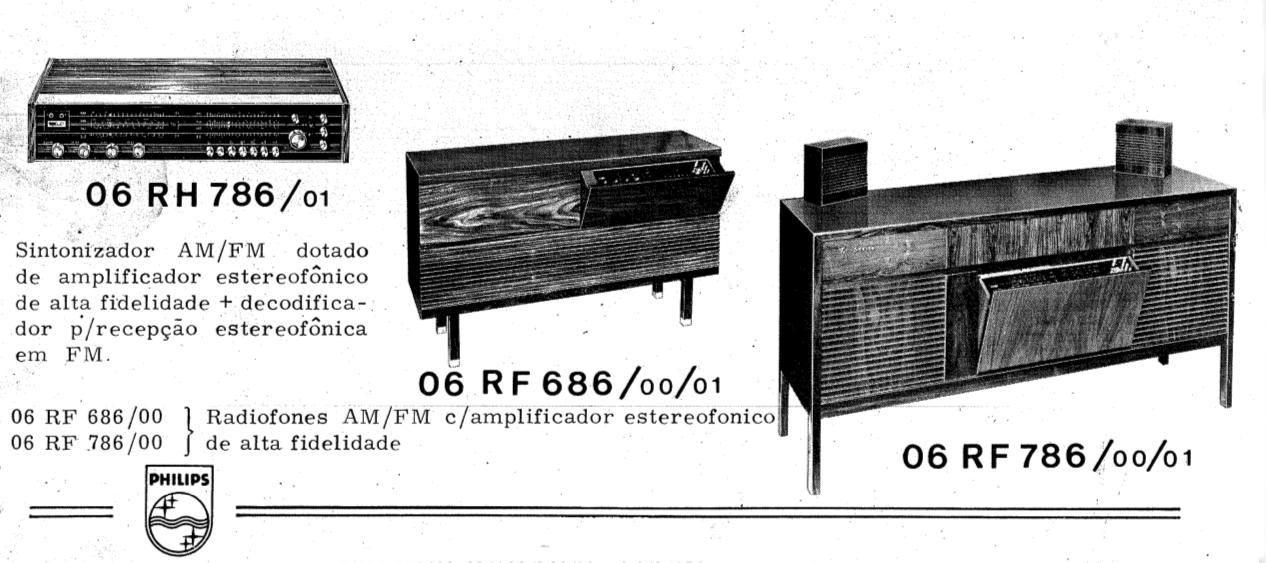 Blog do Picco: Radiofone Philips Mod. 06 RF 686