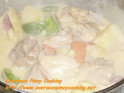 Cheesy Pineapple Chicken Cooking Procedure
