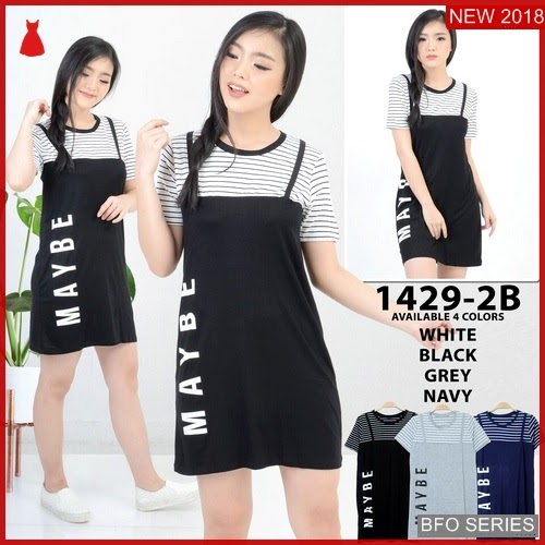 BFO110B158 MAYBE Model MINI DRESS Jaman Now 1429 BMGShop