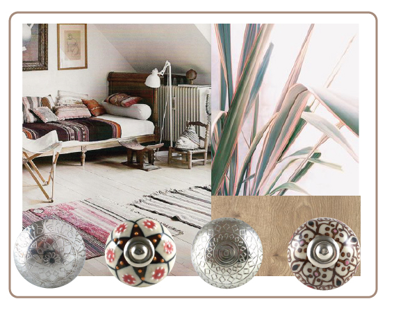 bouton de meuble ethnique