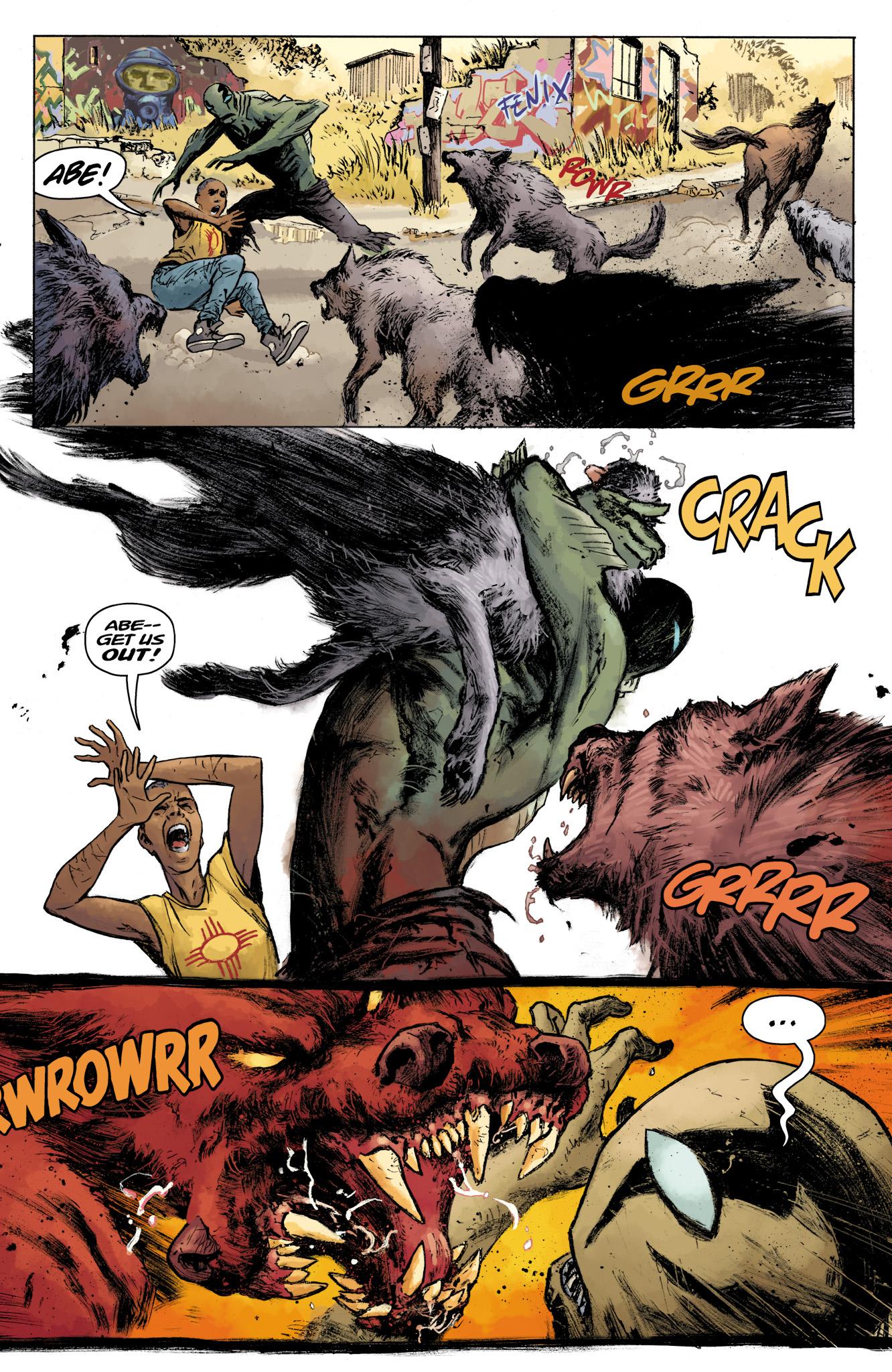 Read online Abe Sapien comic -  Issue #16 - 12