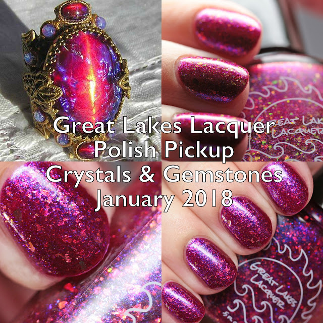 Great Lakes Lacquer Polish Pickup Crystals and Gemstones January 2018