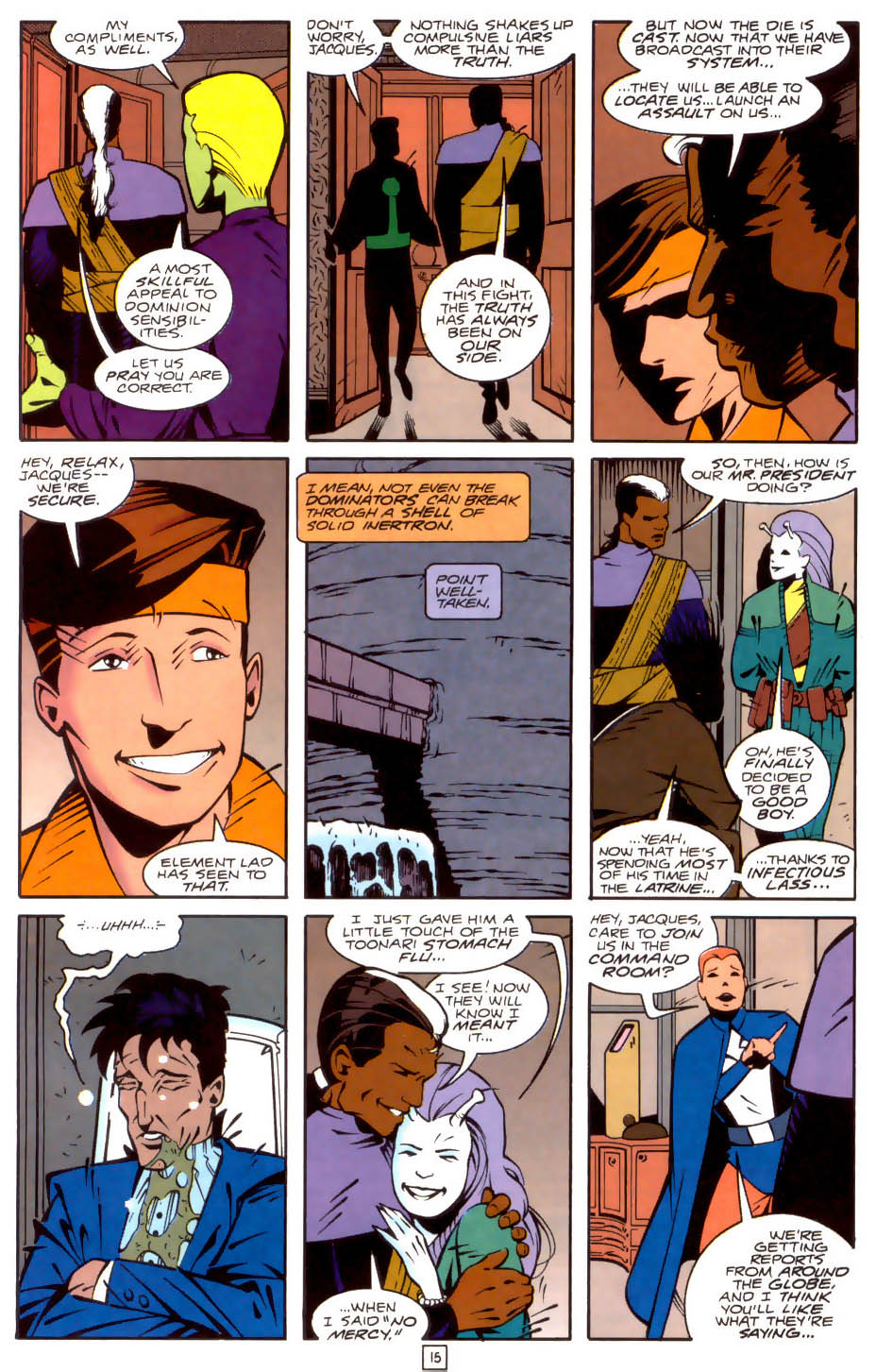 Legion of Super-Heroes (1989) 35 Page 15