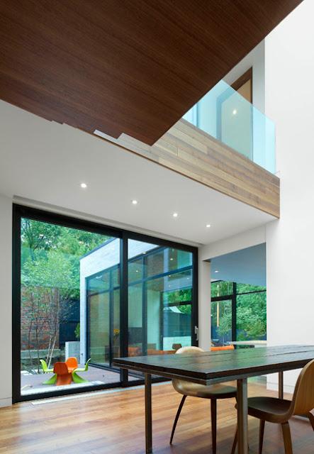 Cedarvale Ravine House Designed By Drew Mandel Architects: Stunning Cedarvale Ravine House In Toronto