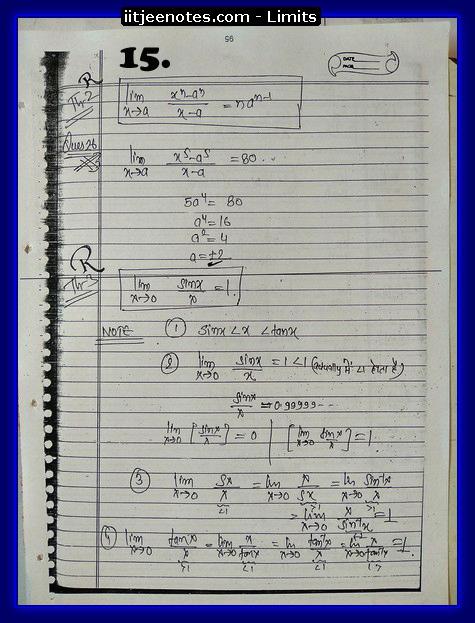limit notes5