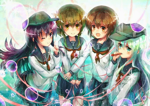 Kantai Collection Destroyers Inazuma