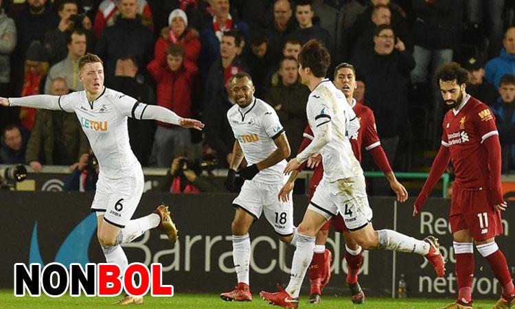 Cuplikan Gol Liverpool 0-1 Swansea City | Liga Inggris Pekan 24