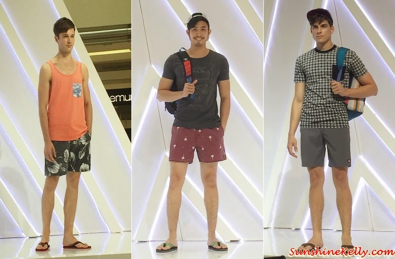 Rip Curl Spring Summer 2015 Collection, Suria KLCC Fashion Week, Rip Curl Fashion Show, Rip Curl, KLCC,