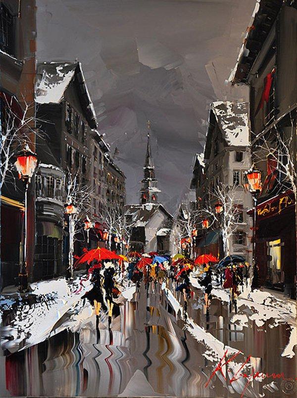 Pinturas urbanas pintada por Kal Gajoum