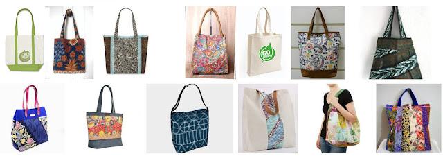 harga jasa pembuatan tas tote bag (goodie bag), ransel, tas murah di kebayoran