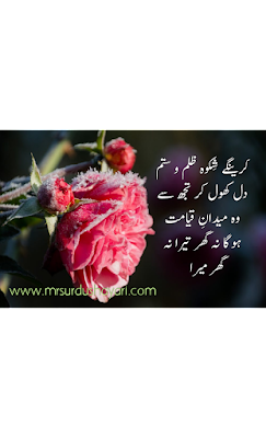 New urdu shayari with images