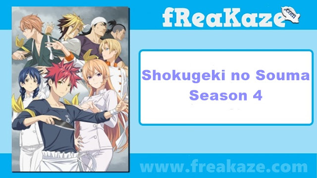 Shokugeki no Souma Season 4 English Sub