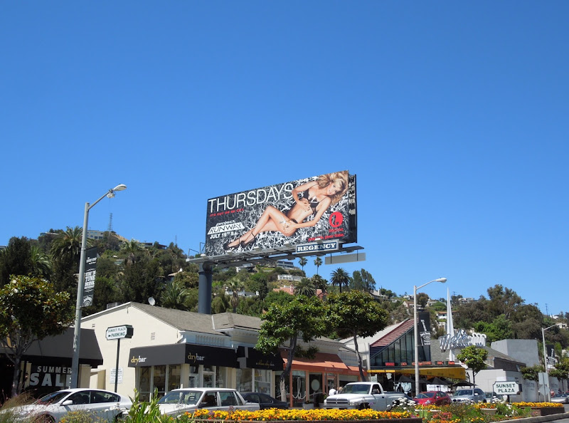 Project Runway 10 billboard Sunset Plaza