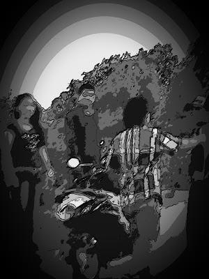 Waduh,Baku Hantam Di Tengah Jalan Akibat Perempuan Malam