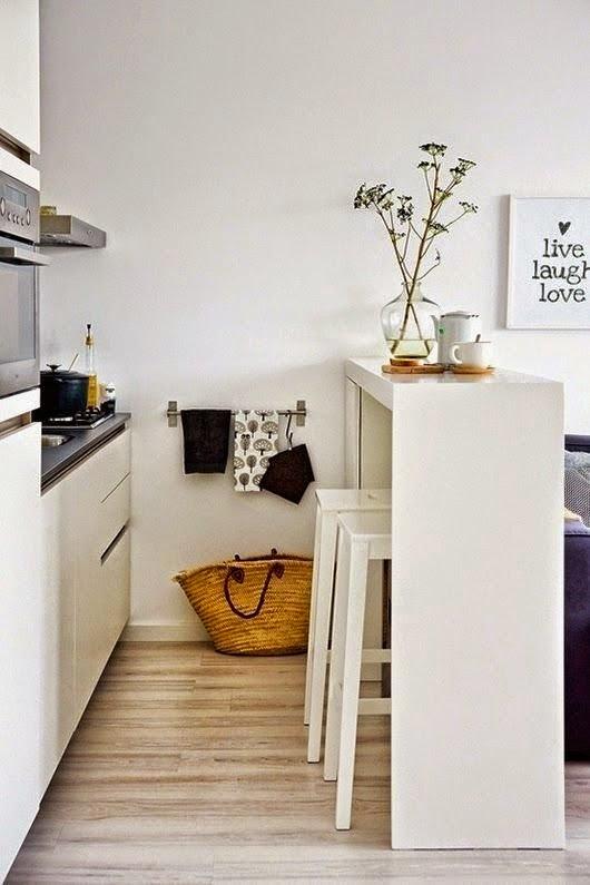 7 MODI PER FARE SEMBRARE UNA CUCINA PICCOLA PIU' GRANDE ~ Home Staging Italia