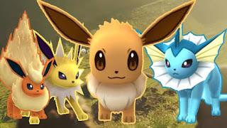 Cara Menentukan Evolusi Eeevee Sesuai Keinginan Di Pokemon Go
