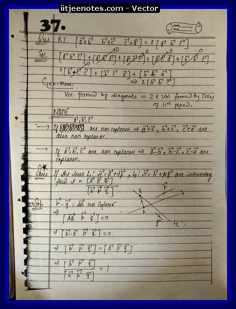 vector questions 7