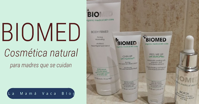 Productos cosmetica natural Biomed